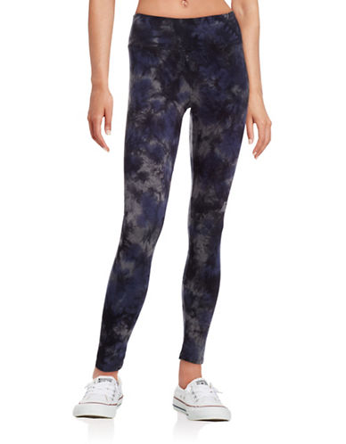 Calvin Klein Performance Performance Tie-Dyed Leggings-BLUE-Large 88611878_BLUE_Large