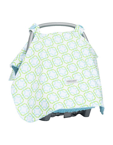 Carseat Canopy Hayden Carseat Canopy-AQUA BLUE-One Size