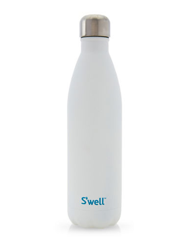 SWell Moonstone Quartz Stainless Steel Bottle-WHITE-One Size