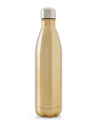 SWell Sparkling Champagne Stainless Steel Bottle-GOLD-One Size