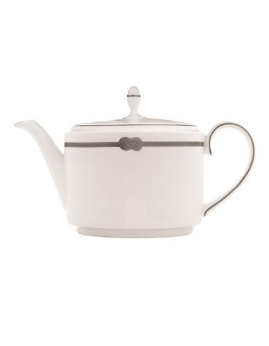 Vera Wang Vera Infinity Teapot-WHITE/PLATINUM-10