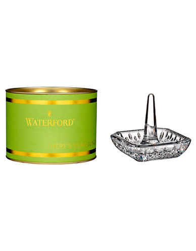 Waterford Wedgwood Giftology Lismore Square Ringholder-CLEAR-One Size