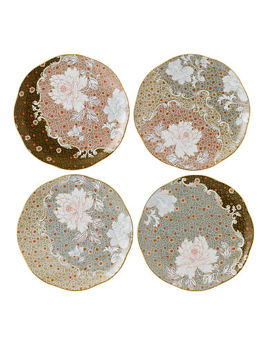Wedgwood Daisy Tea Story Collection Plates Set of 4-MULTI-One Size
