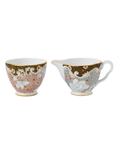Wedgwood Daisy Tea Story Collection Sugar and Creamer-MULTI-One Size
