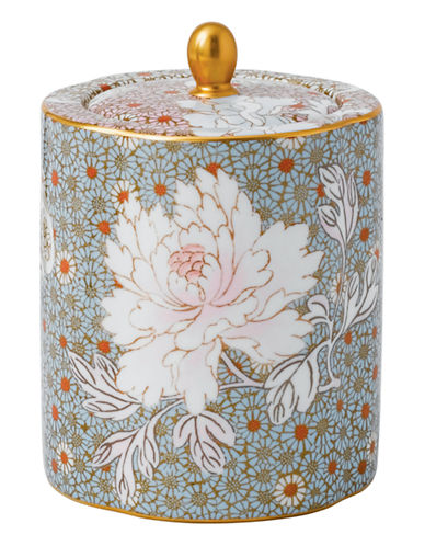 Wedgwood Daisy Tea Story Collection Tea Caddy-MULTI-One Size