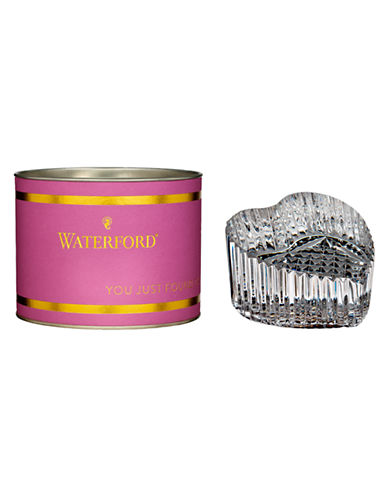 Waterford Wedgwood Giftology Heart Paperweight-CLEAR-One Size