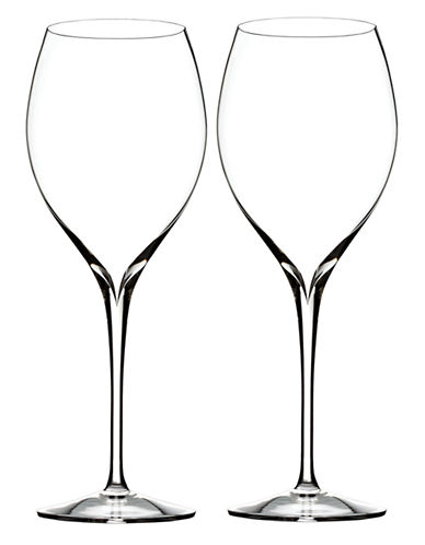 Waterford Wedgwood Elegance Shiraz Wine Glass Pair-CLEAR-One Size