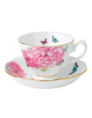 Royal Albert Miranda Kerr Teacup and Saucer-WHITE-One Size