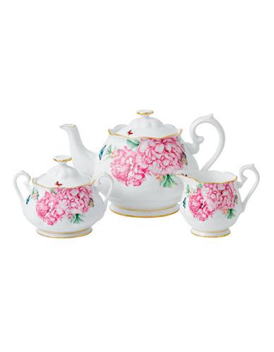 Royal Albert Miranda Kerr Friendship Teacup Creamer and Covered Sugar-WHITE-One Size