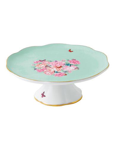 Royal Albert Miranda Kerr Small Cake Plate-GREEN-6.5in