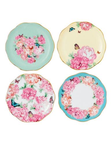 Royal Albert Miranda Kerr Set of 4 Tidbit Plates-MULTI COLOURED-One Size
