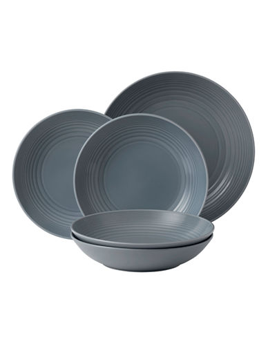 Gordon Ramsay Maze Dark Grey 5 Piece Pasta Set-DARK GREY-One Size