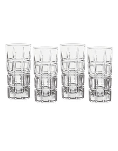 Waterford Wedgwood Marquis Crosby Barware Hiball Set of 4-CLEAR-One Size