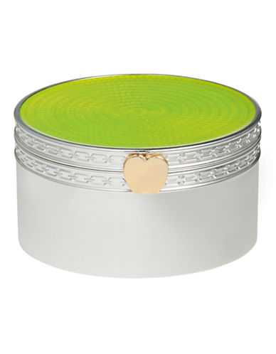 Vera Wang Treasures With Love Lime Green Apple Treasure Box-GREEN APPLE-One Size