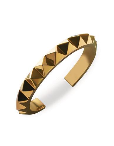 Waterford Wedgwood Rebel Ella B Cuff Bracelet-GOLD-One Size
