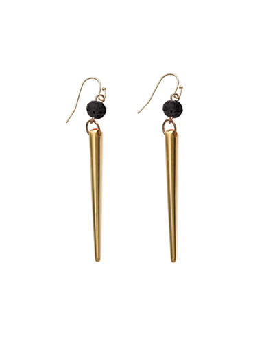 Waterford Wedgwood Rebel Trixie Drop Earrings-GOLD-One Size