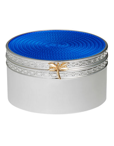 Vera Wang Wedgwood Treasures with Love Blue Dragonfly Treasure Box-BLUE-One Size