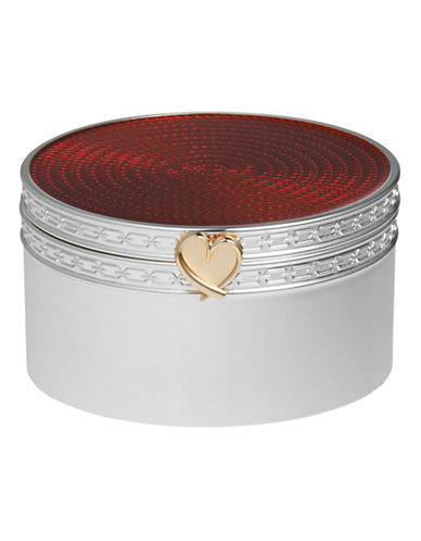 Vera Wang Wedgwood Treasures with Love Red Heart Treasure Box-RED-One Size