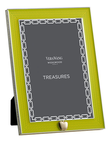 Vera Wang Treasures With Love Lime Green Apple 4x6 Frame-GREEN-One Size