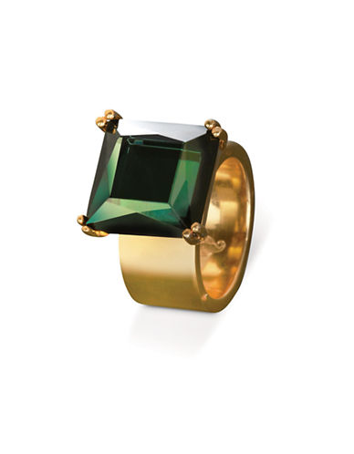 Waterford Wedgwood Rebel Lulu Jewel Ring-GOLD-6.5