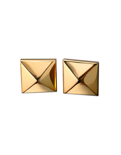 Waterford Wedgwood Rebel Ella B Gold Single Stud Earrings-GOLD-One Size