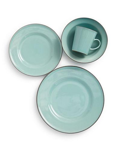 Gordon Ramsay Union Street Café Four-Piece Tableware Set-BLUE-One Size