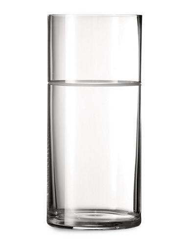 Vera Wang Vera Bande Vase-CLEAR-Large