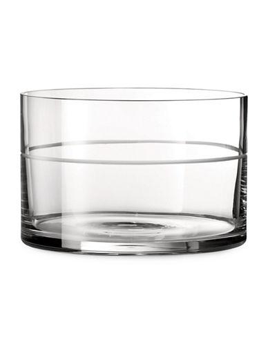 Vera Wang Vera Bande Bowl-CLEAR-Large
