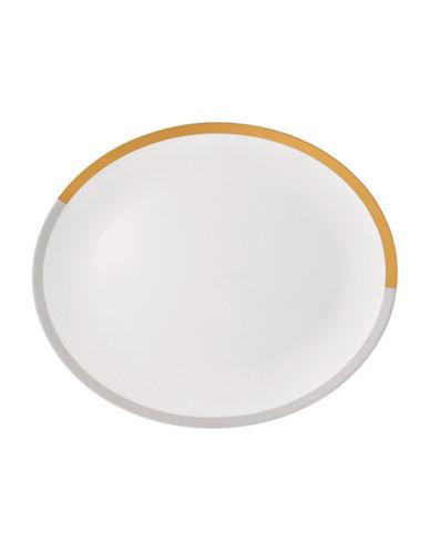 Vera Wang Castillon Oval Platter-YELLOW-One Size