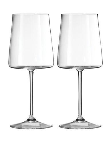 Vera Wang Metropolitan Goblet Set-CLEAR-One Size