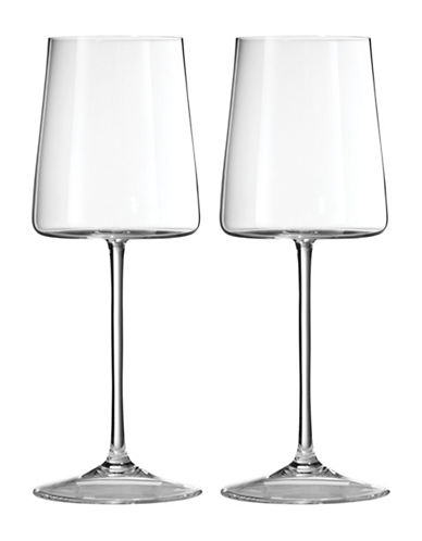 Vera Wang Metropolitan Wine Glass Set-CLEAR-One Size