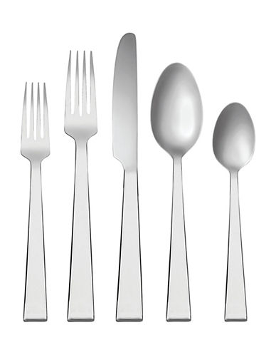 Vera Wang Bande Five-Piece Place Setting-STAINLESS STEEL-One Size