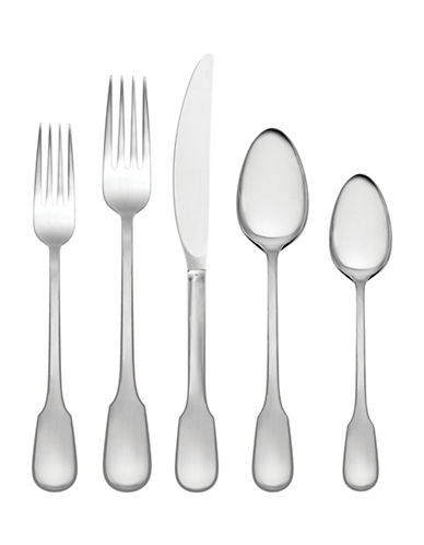Vera Wang Surrey Five-Piece Place Setting-STAINLESS STEEL-One Size