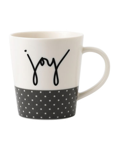 Ed Ellen Degeneres Crafted by Royal Doulton Joy Mug-GREY-One Size