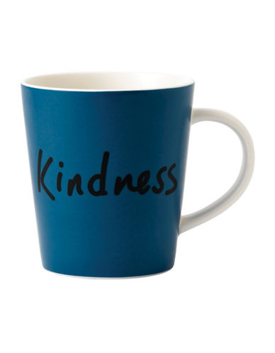 Ed Ellen Degeneres Crafted by Royal Doulton Kindness Mug-BLUE-One Size