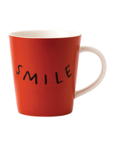 Ed Ellen Degeneres Crafted by Royal Doulton Smile Mug-RED-One Size