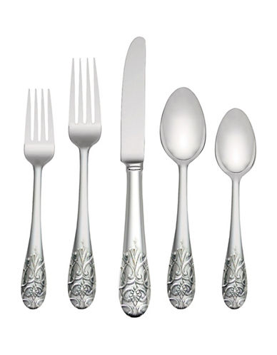 Vera Wang Harrow Five-Piece Place Setting-STAINLESS STEEL-One Size