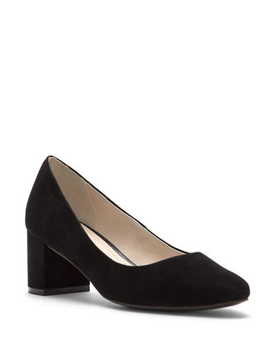 Cole Haan Justine Leather Pumps-BLACK-8.5