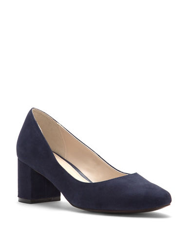Cole Haan Justine Leather Pumps-BLUE-10