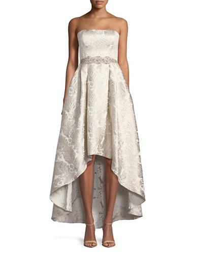 Cachet Brocade Hi-Lo Ball Gown-CHAMPANGE-10