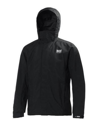 Helly Hansen Durable Rain Jacket-BLACK-Large 88307103_BLACK_Large
