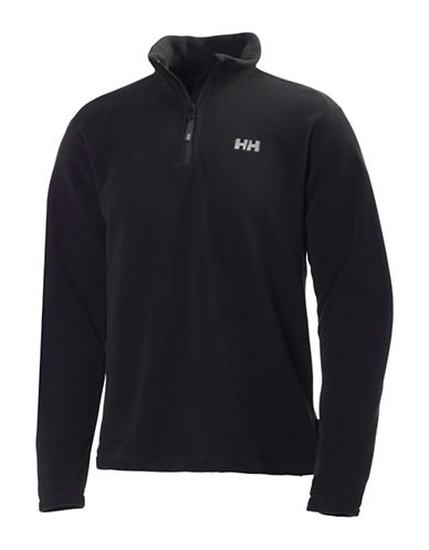 Helly Hansen Daybreaker Fleece Pullover-BLACK-Medium