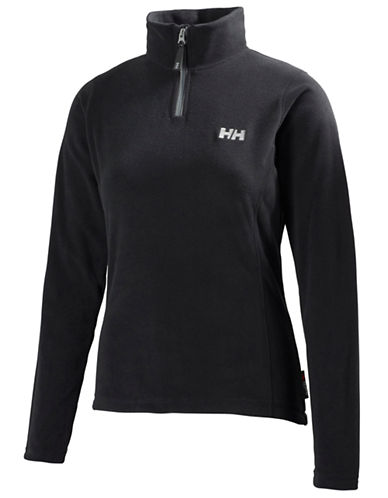 Helly Hansen Daybreaker Half-Zip Fleece Pullover-BLACK-X-Large 87816863_BLACK_X-Large