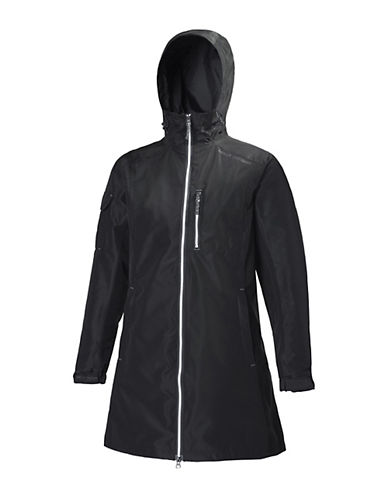Helly Hansen Long Belfast Rain Jacket-BLACK-X-Large 88244141_BLACK_X-Large