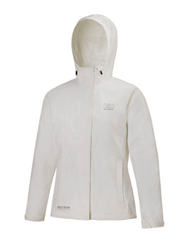 Helly Hansen Seven J Rain Jacket-WHITE-Medium