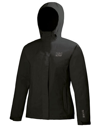 Helly Hansen Seven J Rain Jacket-BLACK-X-Large