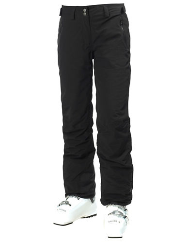 Helly Hansen W Legendary Pant-BLACK-Large