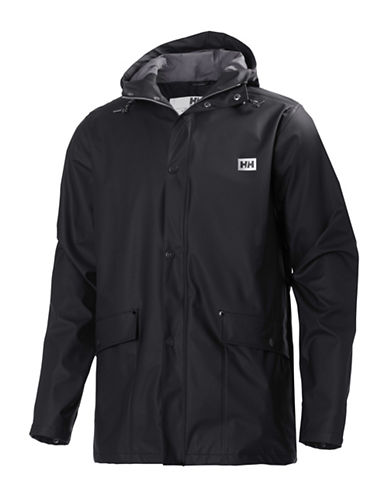 Helly Hansen Lerwick Rain Jacket-BLACK-Medium 88523084_BLACK_Medium