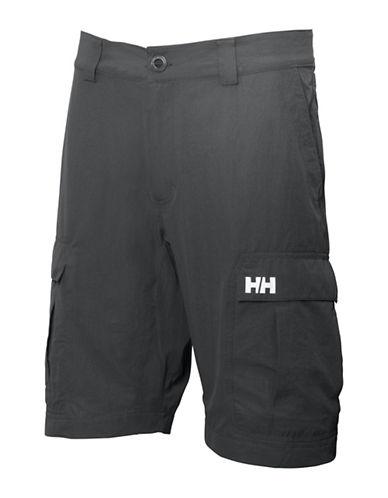 Helly Hansen Flat Front Cargo Shorts-EBONY-34 88180124_EBONY_34