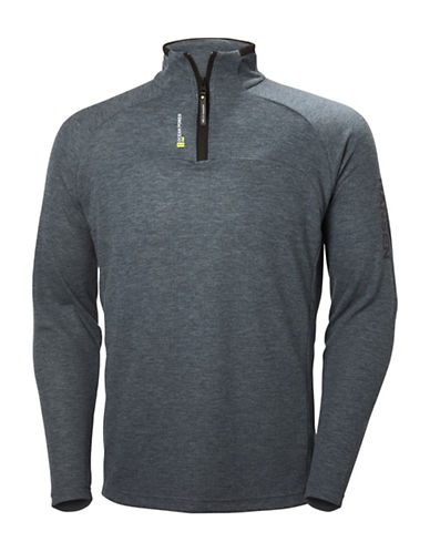 Helly Hansen HP Half-Zip Sweater-GREY-Large 89002896_GREY_Large